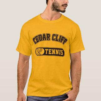 ヒマラヤスギの崖のテニス Tシャツ