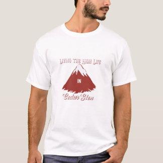 ヒマラヤスギの谷間 Tシャツ