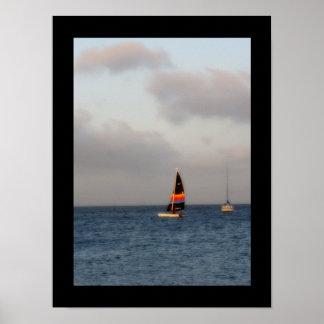 ヒマラヤスギの鍵の写真ポスターのヨット ポスター