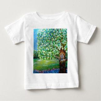 ヒマラヤスギ木 ベビーTシャツ