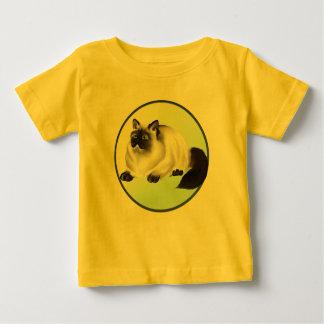 ヒマラヤ子猫のワイシャツ ベビーTシャツ