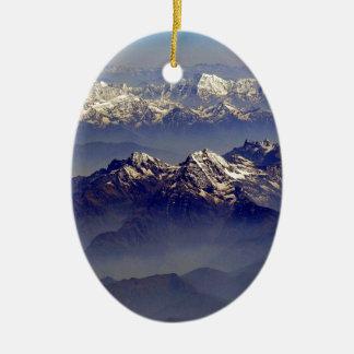ヒマラヤ山脈の石鹸水Avion セラミックオーナメント