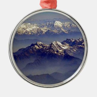 ヒマラヤ山脈の石鹸水Avion メタルオーナメント