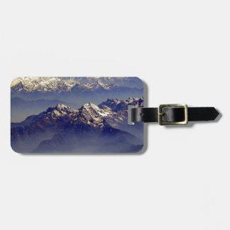 ヒマラヤ山脈の石鹸水Avion ラゲッジタグ