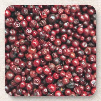 ヒマラヤ山脈の赤い果実 コースター
