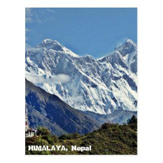 ヒマラヤ山脈-ネパールからの1000の眺めの1 ポストカード