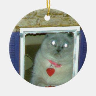 ヒマラヤ猫の子猫の帽子、ティー、mousepad、かわいいギフト セラミックオーナメント