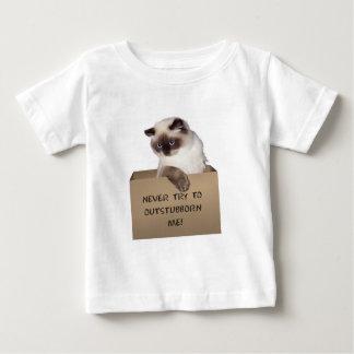 ヒマラヤ箱の猫 ベビーTシャツ