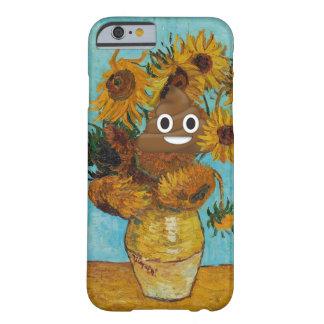 ヒマワリおよび幸せなウンチ BARELY THERE iPhone 6 ケース