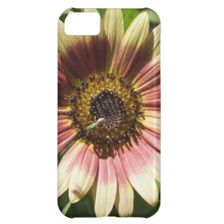 ヒマワリおよび緑の蜂のiPhone 5の箱 iPhone5Cケース