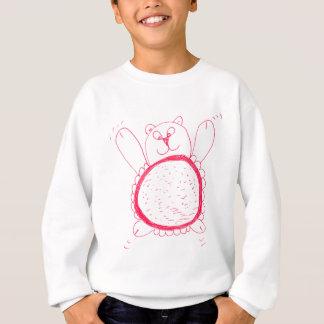 ヒマワリくまの子供のスエットシャツ スウェットシャツ
