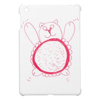 ヒマワリくまのiPad Miniケース iPad Miniカバー