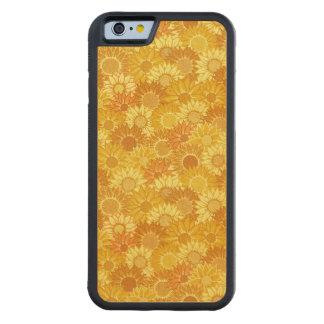 ヒマワリのフェスティバル CarvedメープルiPhone 6バンパーケース