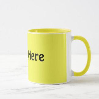ヒマワリのマクロ写真 マグカップ