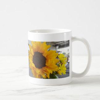 ヒマワリのマグ コーヒーマグカップ