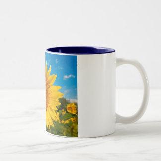 ヒマワリのマグ ツートーンマグカップ