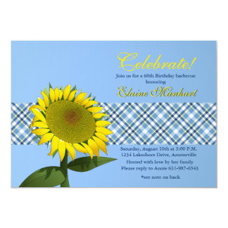 ヒマワリの一流の招待状 カード