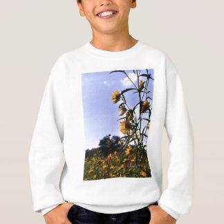 ヒマワリの分野 スウェットシャツ