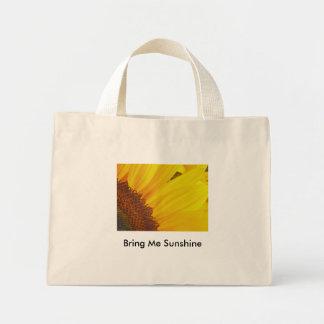ヒマワリの日曜日のバッグ ミニトートバッグ
