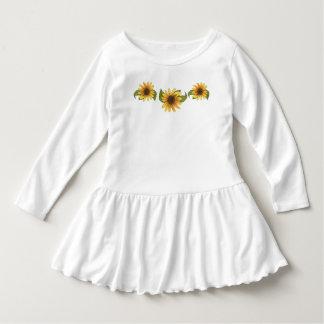 ヒマワリの服 ドレス