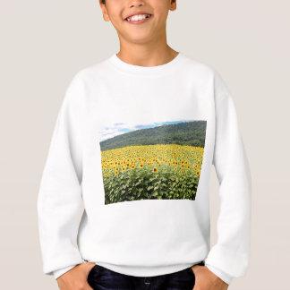 ヒマワリの海 スウェットシャツ