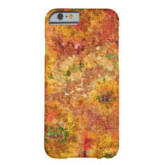 ヒマワリの絵画のヴィンテージ BARELY THERE iPhone 6 ケース