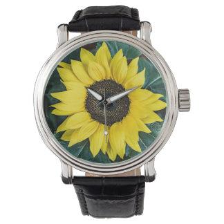 ヒマワリの腕時計 腕時計