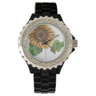 ヒマワリの腕時計!!! 腕時計