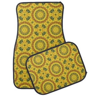 ヒマワリの自然、花曼荼羅(Blumen曼荼羅) カーマット