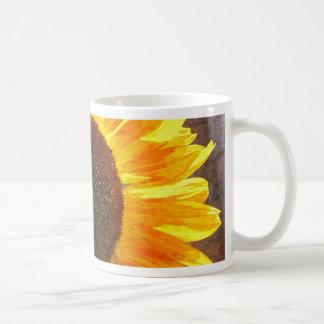 ヒマワリの蜂 コーヒーマグカップ