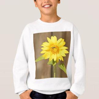 ヒマワリの蜂 スウェットシャツ