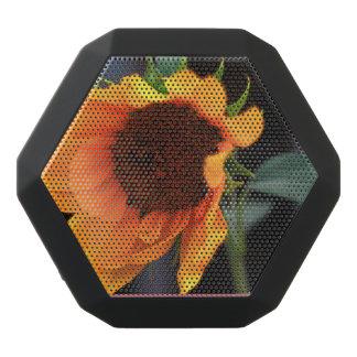 ヒマワリの開花 ブラックBluetoothスピーカー