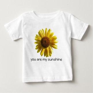 ヒマワリのTシャツ ベビーTシャツ