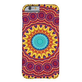 ヒマワリエネルギー曼荼羅のインディの芸術 BARELY THERE iPhone 6 ケース