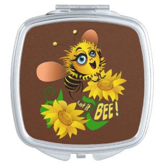ヒマワリ分野の蜂の飛行