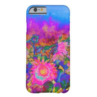 ヒマワリ分野-ピンク BARELY THERE iPhone 6 ケース