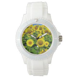 ヒマワリ分野 腕時計