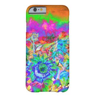 ヒマワリ分野-青 BARELY THERE iPhone 6 ケース