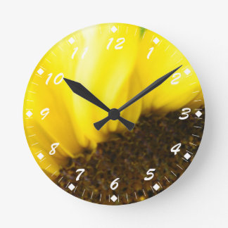 ヒマワリ175 ラウンド壁時計