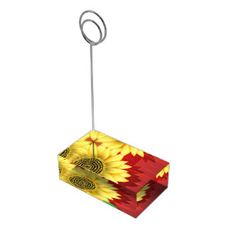 ヒマワリ テーブルカードホルダー