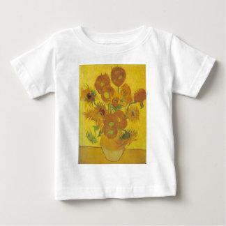 ヒマワリ-フィンセント・ファン・ゴッホ ベビーTシャツ