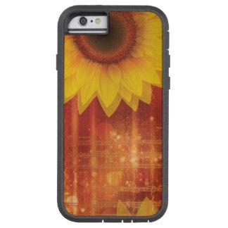 ヒマワリ、愛および幸福 TOUGH XTREME iPhone 6 ケース