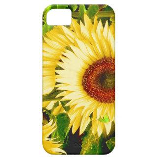 ヒマワリ-第3記念日のための花 iPhone SE/5/5s ケース