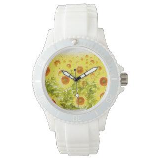 ヒマワリ 腕時計