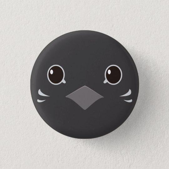 ヒメウズラ(レッドブレスト)-Quail(red-breasted) 3.2cm 丸型バッジ
