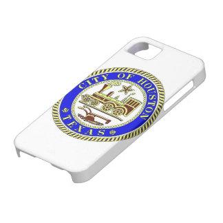 ヒューストンのシール iPhone SE/5/5s ケース