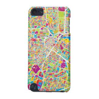 ヒューストンのテキサス州|のネオン地図 iPod TOUCH 5G ケース