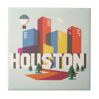 ヒューストンのテキサス州|の都市景観のデザイン タイル