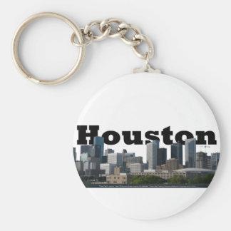 ヒューストンの空のヒューストンとのTXのスカイライン キーホルダー