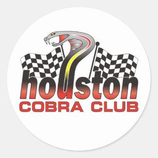 ヒューストンコブラクラブロゴ- 2009年12月 ラウンドシール